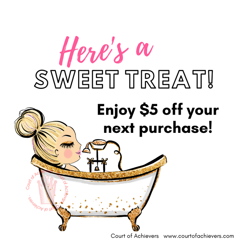 Pampering Treat Chat Card