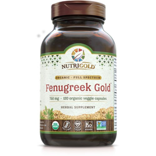 NutriGold - Fenugreek Gold 120 VCaps|