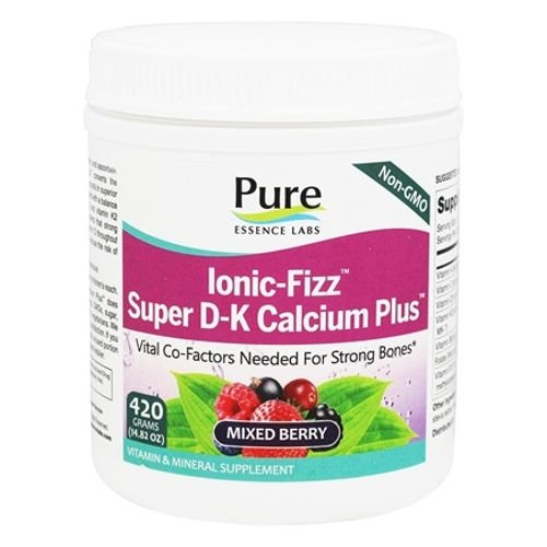 Pure Essence Labs - Ionic-Fizz Super D-K Calcium Plus Mixed Berry|