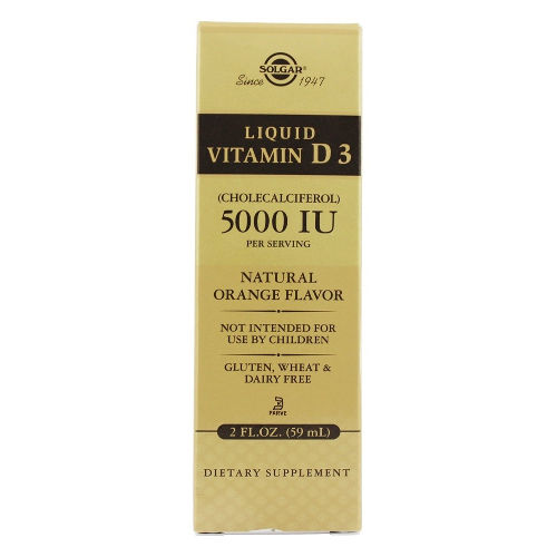 Solgar - Liquid Vitamin D3 5,000 IU 2 oz