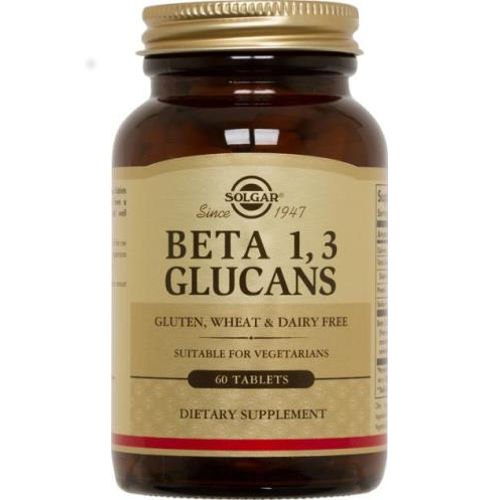 Solgar - Beta 1,3 Glucans 60 Tablets