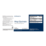 Metagenics Mag Glycinate 120 Tablets