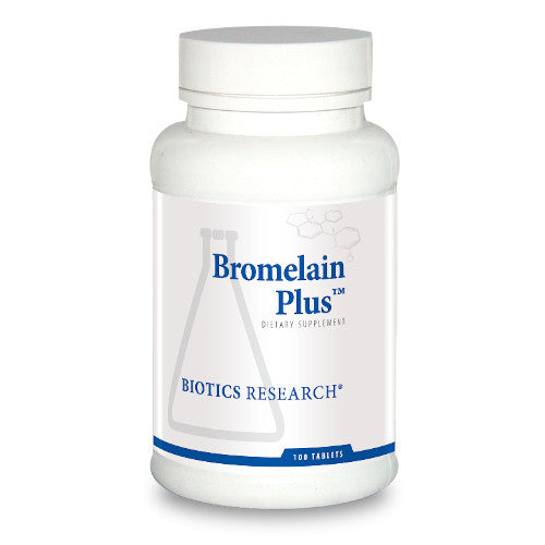 Biotics Research Bromelain Plus 100 Tabs