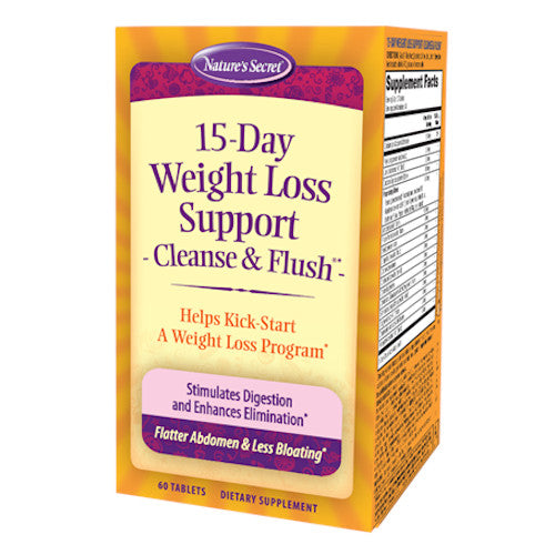 Nature's Secret 15 Day Weight Loss Support-Nature's Secret-Ur Vitamins