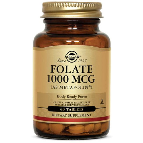 Solgar - Folate 1000mcg as Metafolin 60 Tabs