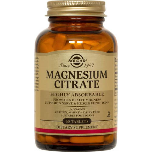 Solgar - Magnesium Citrate 60 Tablets