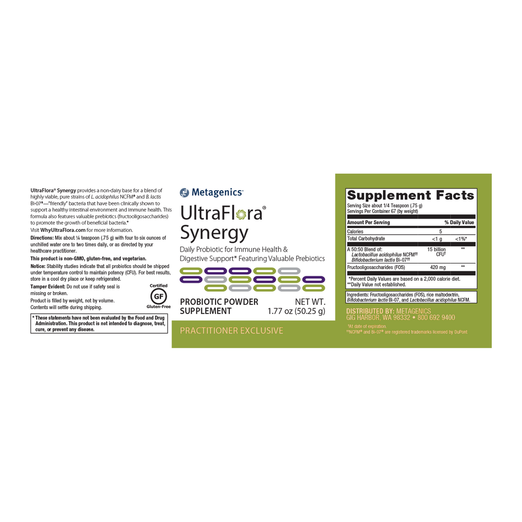 Metagenics UltraFlora Synergy Powder