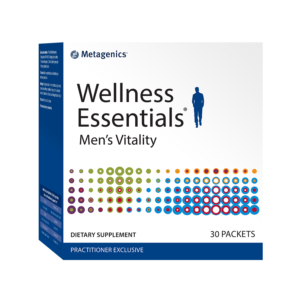 Metagenics Wellness Essentials Mens Vitality 30 Packs