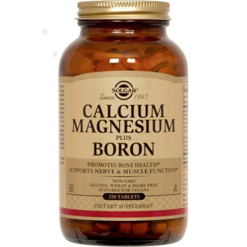 Solgar - Calcium Magnesium Plus Boron 250 Tablets
