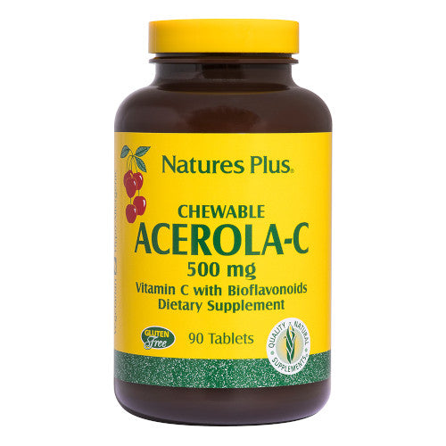 Nature's Plus Acerola C Complex 500 Mg Chewable-Nature's Plus-Ur Vitamins