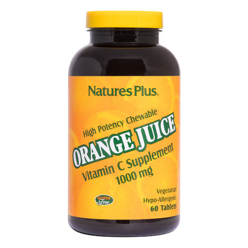 Nature's Plus Orange Juice C 1000 Mg Chewable 60-Nature's Plus-Ur Vitamins