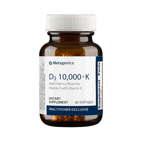Metagenics D3 10,000 With K2 60 Softgels
