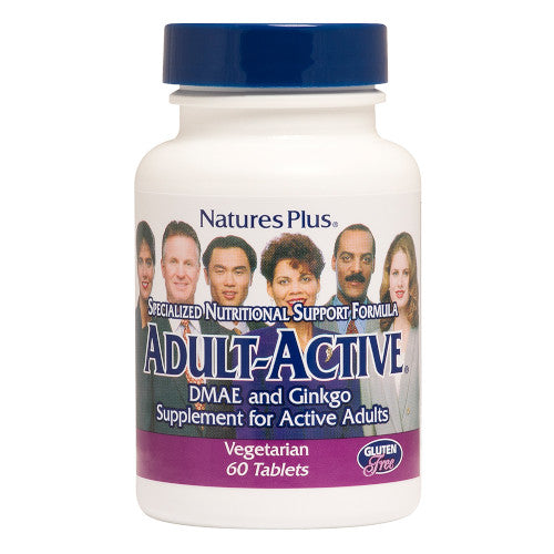 Nature's Plus Adult Active Tablets 60-Nature's Plus-Ur Vitamins