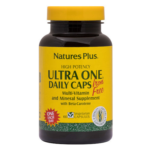 Nature's Plus Ultra One Daily No Iron Vcaps 60-Nature's Plus-Ur Vitamins