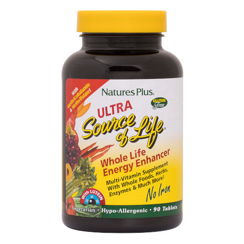 Ultra Source Of Life With Lutein No Iron 90-Nature's Plus-Ur Vitamins
