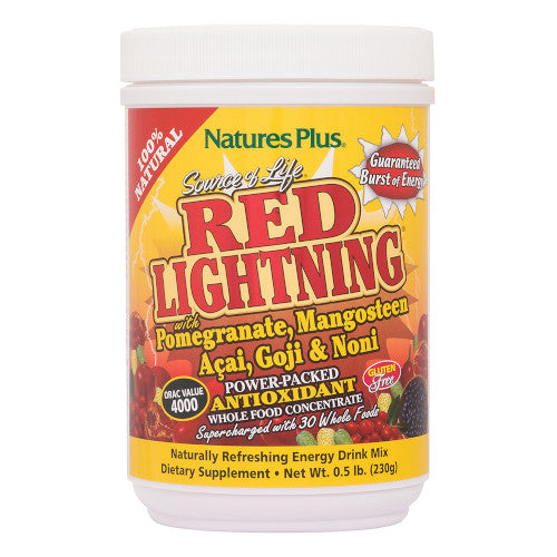 Source Of Life Red Lightning .5 Lb-Nature's Plus-Ur Vitamins
