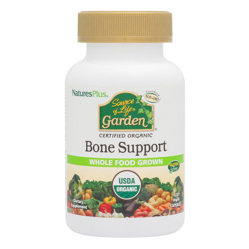 Source Of Life Garden Bone Support Vcap 120-Nature's Plus-Ur Vitamins