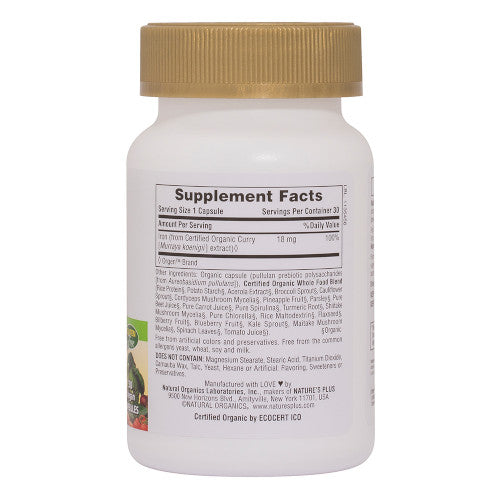 Source of Life Garden Iron 30 VCaps-Nature's Plus-Ur Vitamins