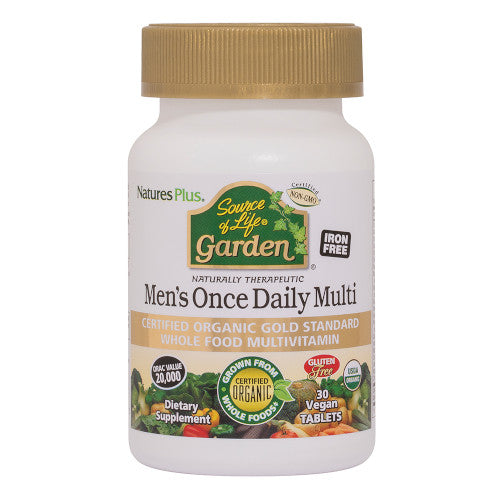 Source Of Life Garden Organic Mens Daily 30 Tab-Nature's Plus-Ur Vitamins