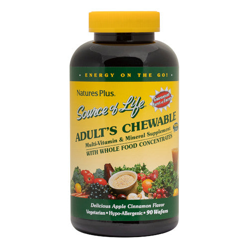 Source Of Life Adult's Chewable 90-Nature's Plus-Ur Vitamins
