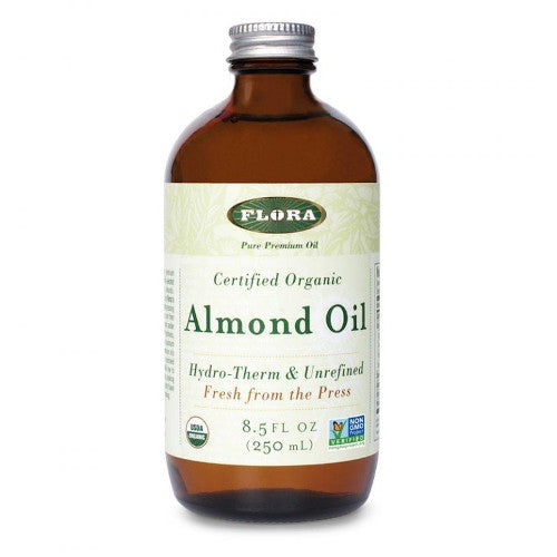 Flora Almond Oil Organic 8.5 oz