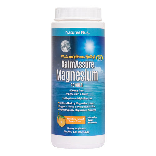 Kalmassure Orange Magnesium Powder-Nature's Plus-Ur Vitamins