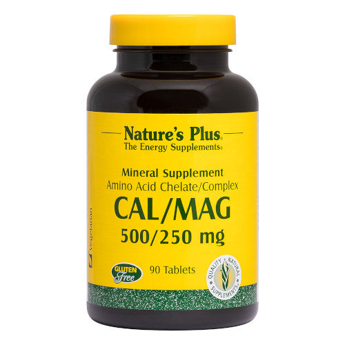 Nature's Plus Cal/Mag 500/250 Tablets 90-Nature's Plus-Ur Vitamins