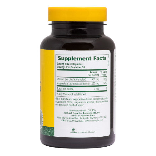 Nature's Plus Cal/Mag Citrate 90 Vcaps-Nature's Plus-Ur Vitamins