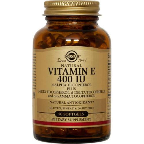 Solgar - Vitamin E 400 IU Mixed 50 Softgels