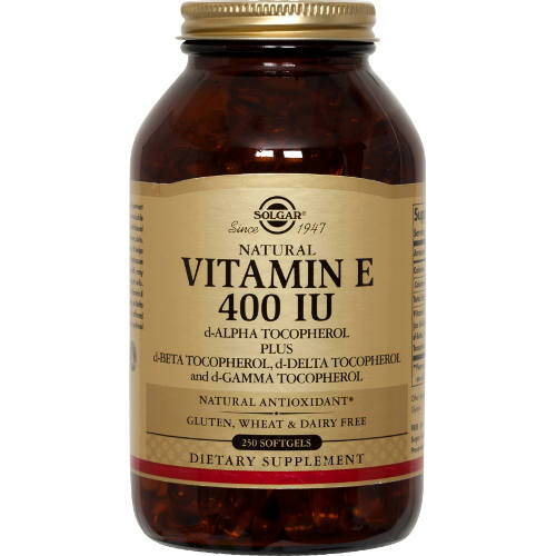 Solgar - Vitamin E 400 IU Mixed 250 Softgels