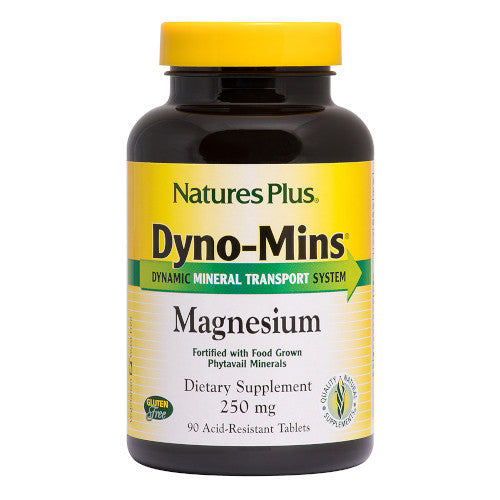Nature's Plus Dyno Mins Magnesium 90 Tablets-Nature's Plus-Ur Vitamins