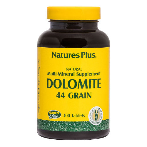 Nature's Plus Dolomite 44 Grain Tablets 300-Nature's Plus-Ur Vitamins