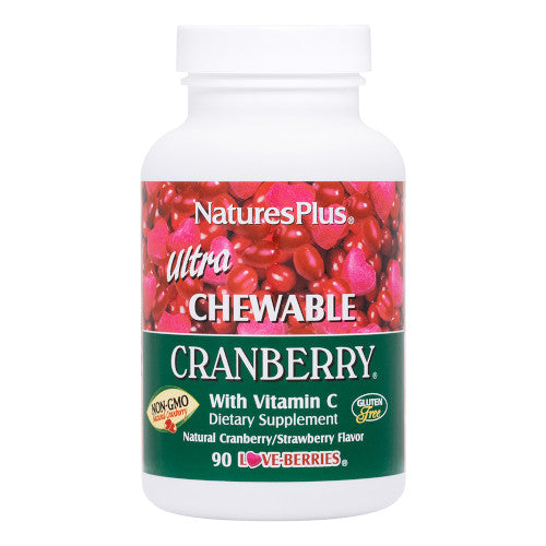 Nature's Plus Ultra Cranberry Chewable 90-Nature's Plus-Ur Vitamins