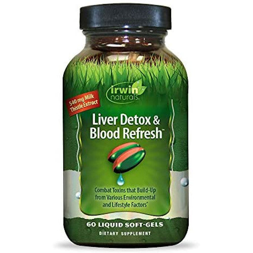 Liver Detox & Blood Refresh 60 Softgels