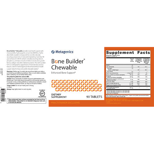 Metagenics Bone Builder Chewable 90 tabs