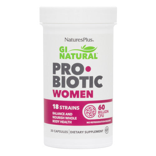 Nature's Plus GI Natural Pro Biotic Women-Nature's Plus-Ur Vitamins