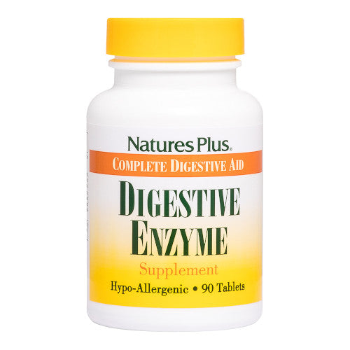 Nature's Plus Digestive Enzyme Tablets 90-Nature's Plus-Ur Vitamins