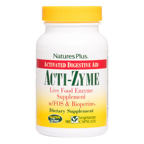 Nature's Plus Acti-Zyme Vcaps 90-Nature's Plus-Ur Vitamins
