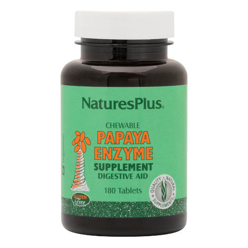 Nature's Plus Papaya Enzyme Chewable 180-Nature's Plus-Ur Vitamins