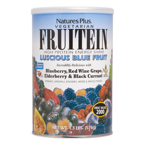 Fruitein Luscious Blue Fruit Shke 1.3 Lb-Nature's Plus-Ur Vitamins
