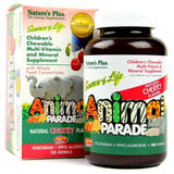 Animal Parade Children's Chewable Multi Cherry 180-Nature's Plus-Ur Vitamins