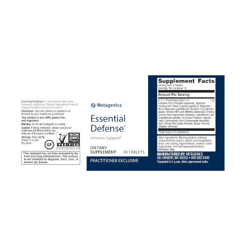 Metagenics Essential Defense 30 Tablets