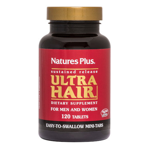 Nature's Plus Ultra Hair Mini Tabs 120-Nature's Plus-Ur Vitamins