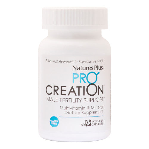 Pro Creation Male Fertility Support 60 VCaps-Nature's Plus-Ur Vitamins