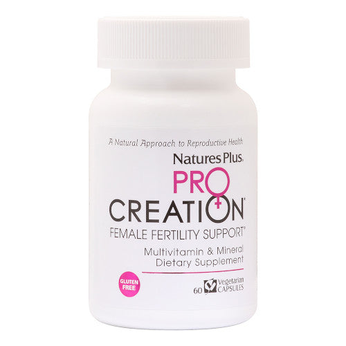 Pro Creation Female Fertility Support 60 VCaps-Nature's Plus-Ur Vitamins