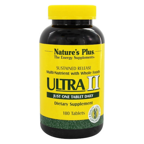 Nature's Plus Ultra II S/R Tablets 180-Nature's Plus-Ur Vitamins