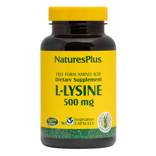 Nature's Plus L-Lysine 500 Mg Vcaps 90-Nature's Plus-Ur Vitamins