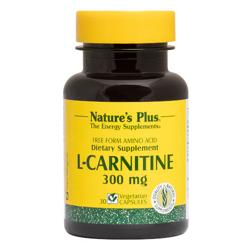 Nature's Plus L-Carnitine 300 Mg Vcaps 30-Nature's Plus-Ur Vitamins