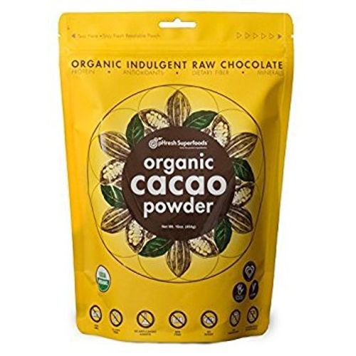Phresh Products - Cacao Powder Organic Raw 8 oz|