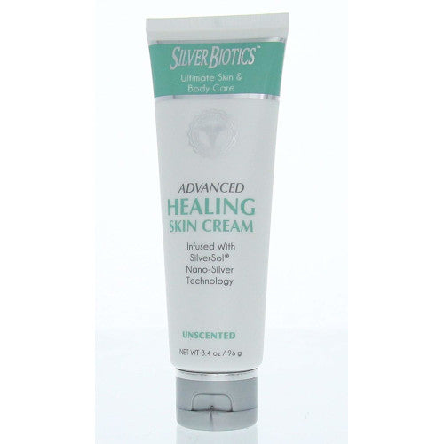 Silver Biotics Advanced Healing Skin Cream 3.4 oz-Silver Biotics-Ur Vitamins